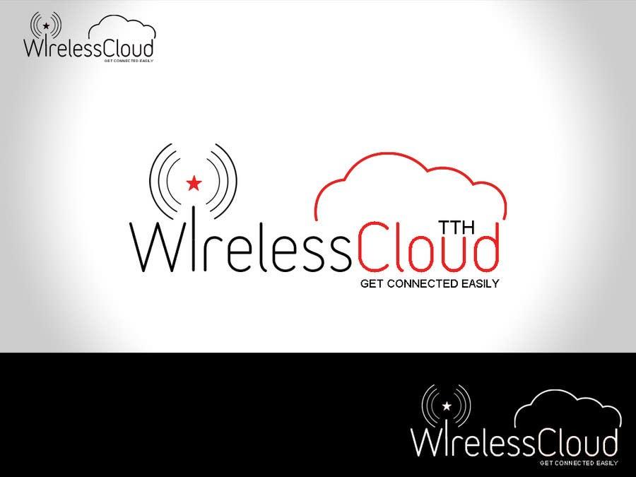 Penyertaan Peraduan #                                        721                                      untuk                                         Logo Design for Wireless Cloud TTH