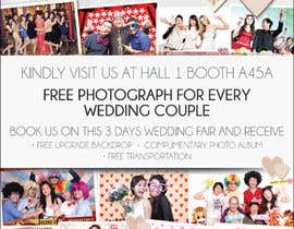#39 untuk Design a Flyer for Thepica Studio Wedding Fair oleh amcgabeykoon