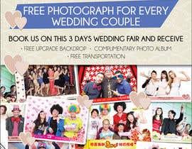 #44 untuk Design a Flyer for Thepica Studio Wedding Fair oleh amcgabeykoon