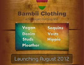 #12 cho Graphic Design for bambii clothing.ca bởi dipcore