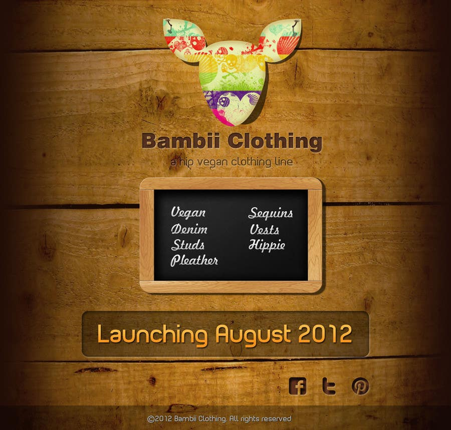 #17 for Graphic Design for bambii clothing.ca by dipcore
