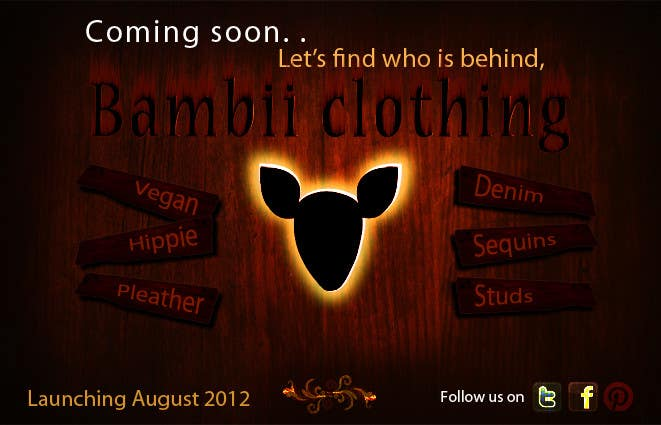 #25 for Graphic Design for bambii clothing.ca by farhanpm786
