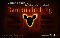 Contest Entry #13 for Graphic Design for bambii clothing.ca
