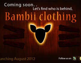 #13 for Graphic Design for bambii clothing.ca af farhanpm786