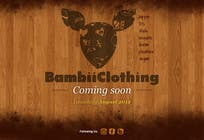 Contest Entry #11 for Graphic Design for bambii clothing.ca