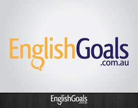 nº 71 pour Logo Design for 'English Goals' par tiffont