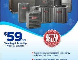 designart65 tarafından Design a Flyer for our HVAC (Heating and Cooling) Company için no 9