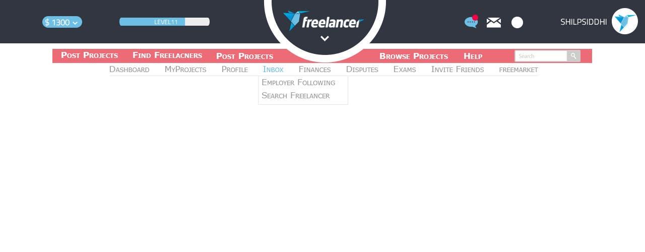 #44 for Design a Website Mockup for Freelancer.com !!! by ShilpSiddhi