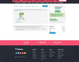 #53 for Design a Website Mockup for Freelancer.com !!! by mishok123