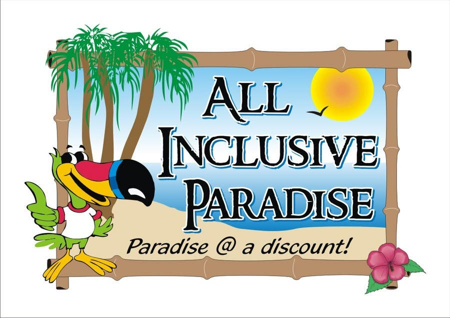 Contest Entry #                                        100                                      for                                         Logo Design for All Inclusive Paradise