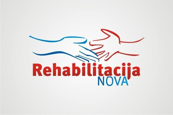 "Конкурсная заявка №213 для Logo Design for a rehabilitation clinic in Croatia -  ""Rehabilitacija Nova"""