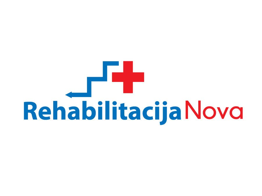 "Contest Entry #                                        220                                      for                                         Logo Design for a rehabilitation clinic in Croatia -  ""Rehabilitacija Nova"""