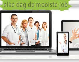 #5 for Ontwerp een Banner for facebook, twitter, linkedin header for a health care jobboard by walaaayaz