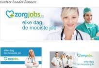 Contest Entry #9 for Ontwerp een Banner for facebook, twitter, linkedin header for a health care jobboard