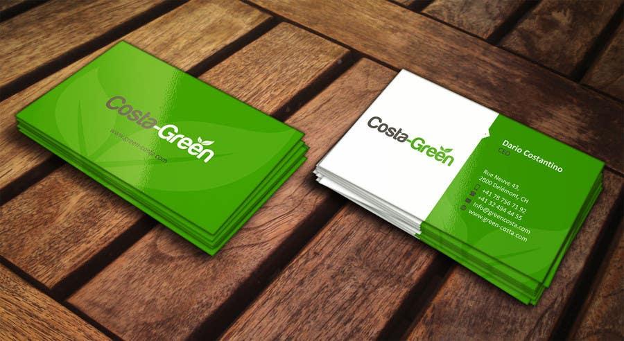 Penyertaan Peraduan #                                        6                                      untuk                                         Design some Business Cards for my company selling medicine