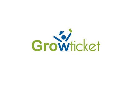 #243 para Logo Design for Growticket por paxslg