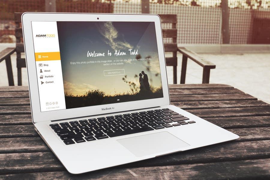 Design a Website Mockup for Photography Business   Freelancer