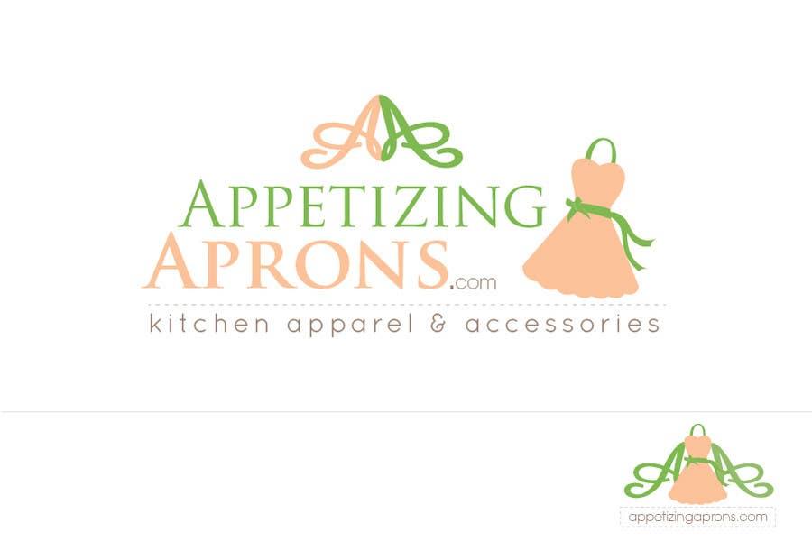 """Intrarea #55 pentru concursul """"Logo Design for AppetizingAprons.com"""""""