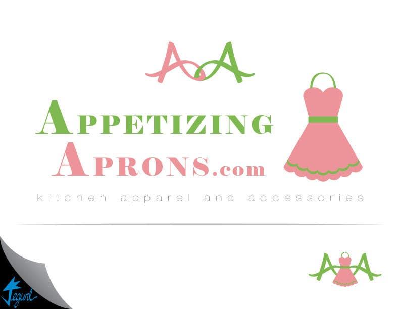 Penyertaan Peraduan #                                        120                                      untuk                                         Logo Design for AppetizingAprons.com