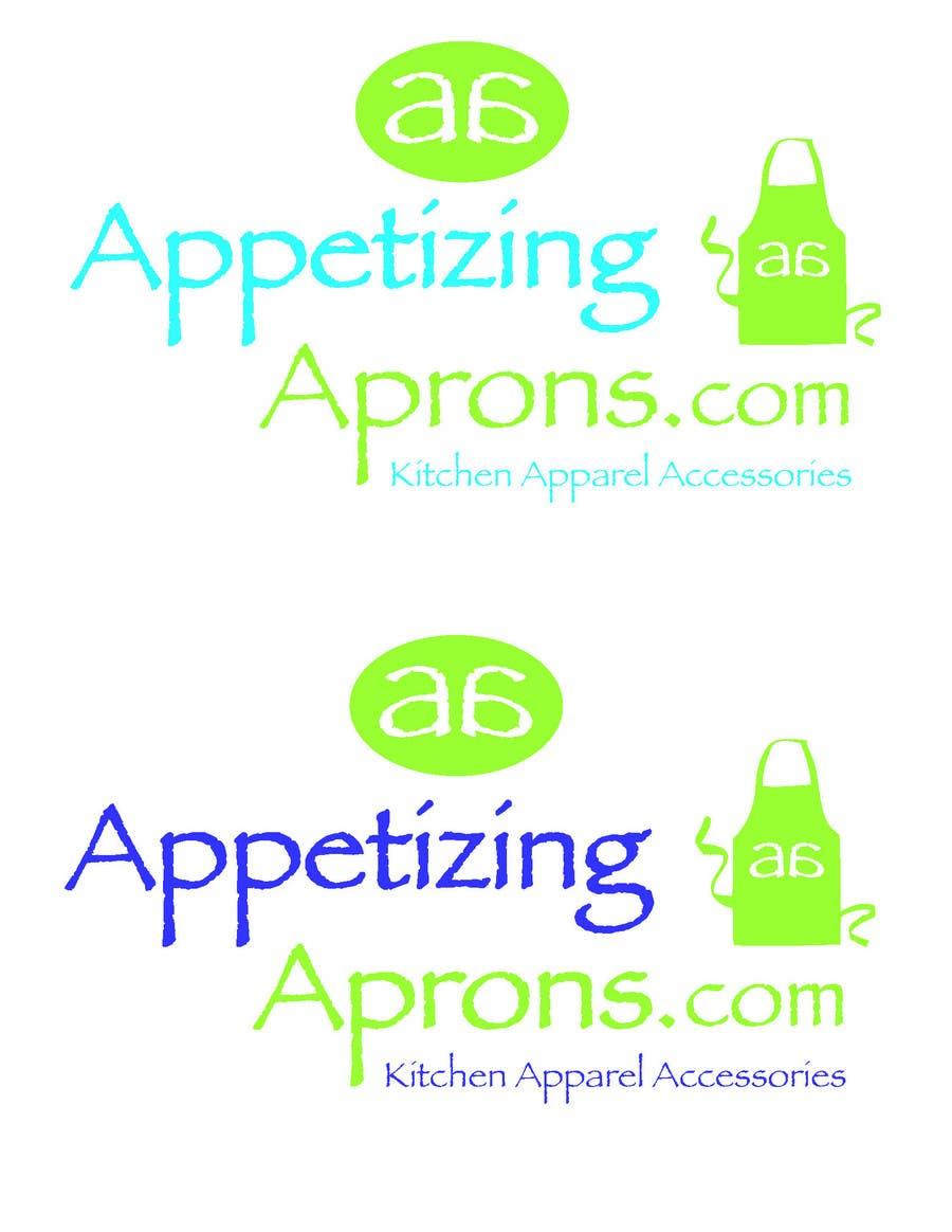 Penyertaan Peraduan #                                        45                                      untuk                                         Logo Design for AppetizingAprons.com