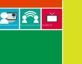 #8 untuk Set of 3 Metro Windows 8 style graphic tiles oleh jhndvd