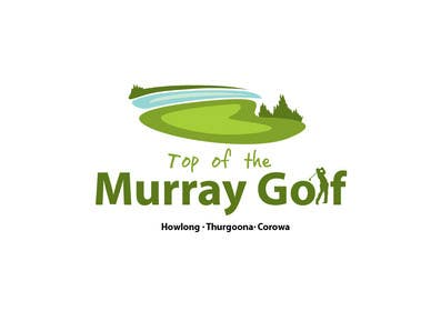 #77 para Logo Design for Top Of The Murray Golf por paxslg