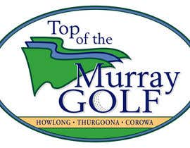 nº 117 pour Logo Design for Top Of The Murray Golf par DMPartist