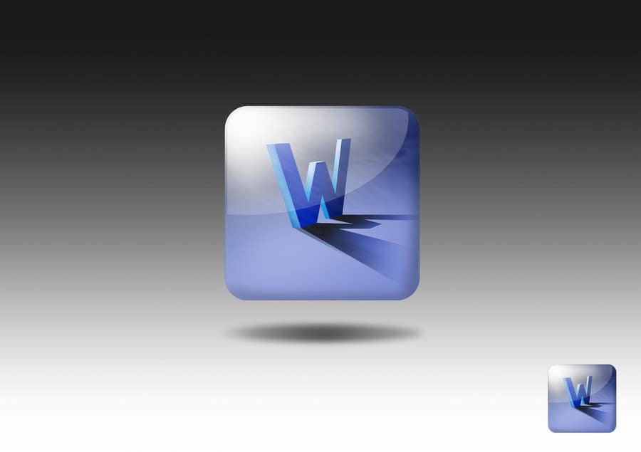 #1376 for W.M app icon design  by KhalfiOussama