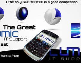 #159 pentru Logo Design for Lumic IT Support de către askPaul