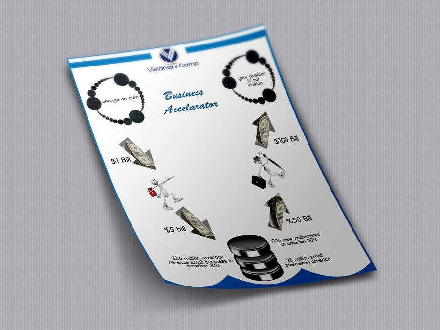 Penyertaan Peraduan #                                        27                                      untuk                                         Design infographic flyer