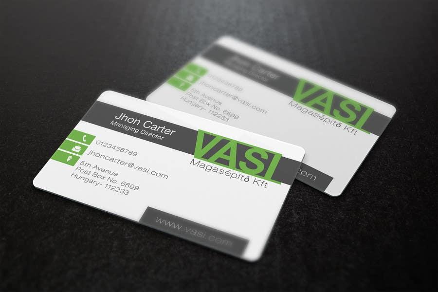 Penyertaan Peraduan #                                        50                                      untuk                                         Create a business card with special characters
