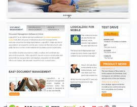#12 for Layout the contents of the Home page of a web-site using a defined template af rgbroot
