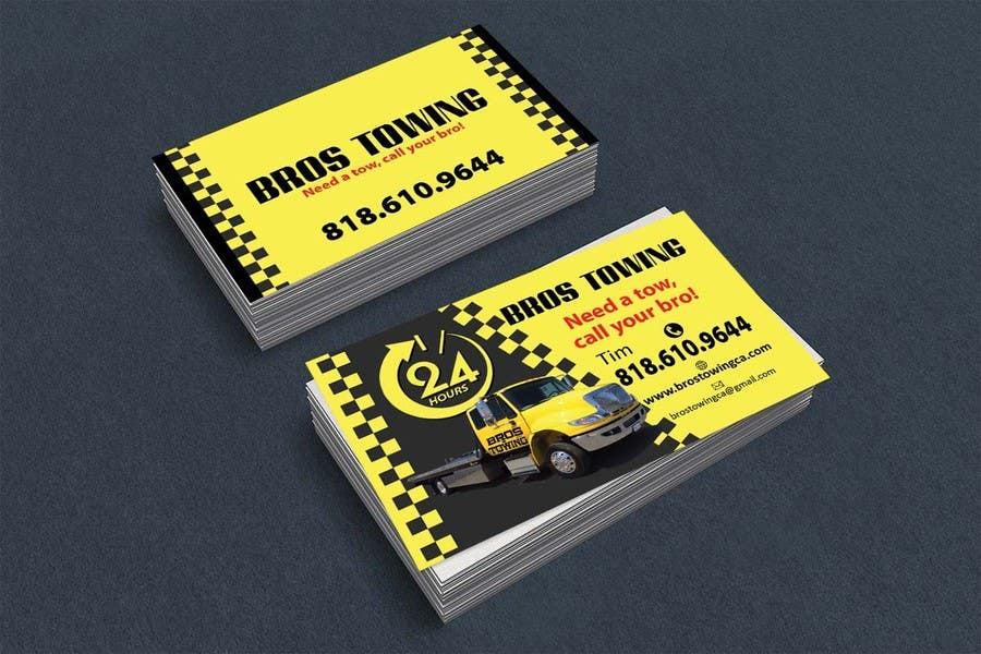Tow Truck Pictures For Business Cards | Best Business Cards