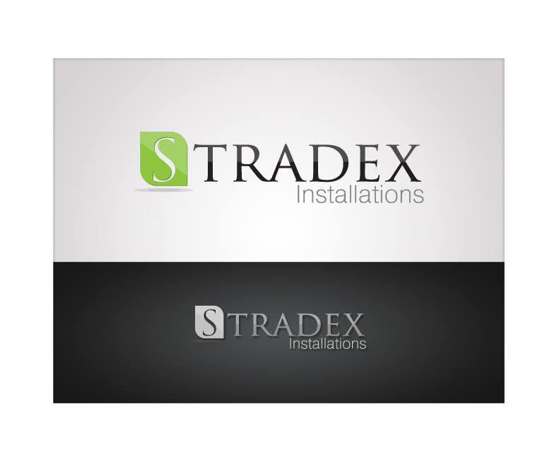 Penyertaan Peraduan #113 untuk Logo Design for Stradex Installations