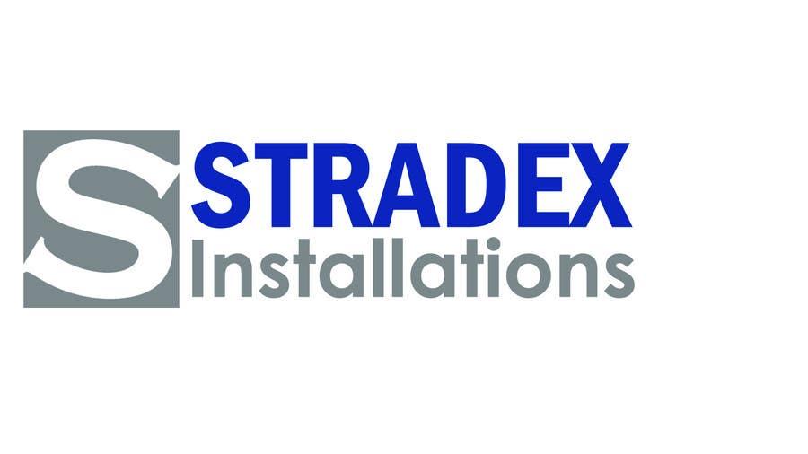 Penyertaan Peraduan #23 untuk Logo Design for Stradex Installations