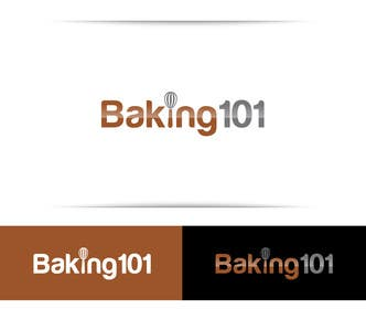 #6 for Design a Logo for Baking 101 by thelionstuidos
