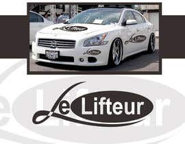 #38 para Logo Design for Le Lifteur por rogeliobello