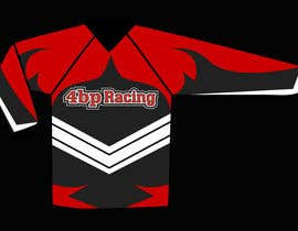 #1 para Long sleeve racing T-shirt Design for 4bpracing.com.au por marsalank