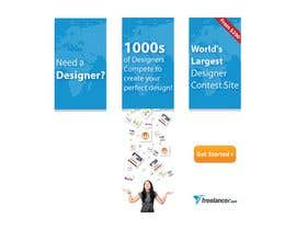 #213 สำหรับ Banner Ad Design for Freelancer.com โดย melsdqueen
