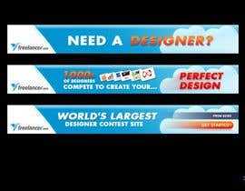 #249 za Banner Ad Design for Freelancer.com od damorin
