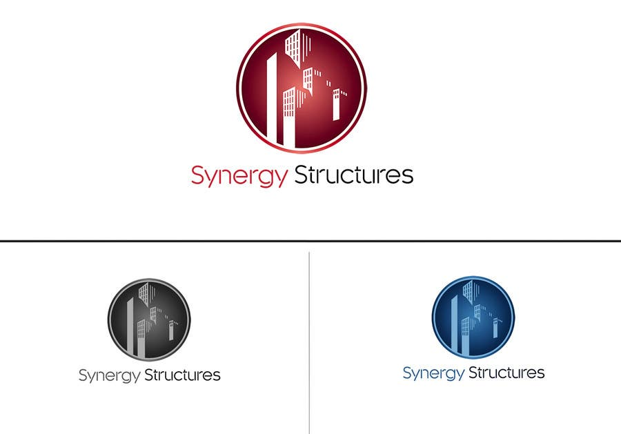 "#28 for Logo for ""Synergy Structures"" $40 1st, $10 2nd. Apartment building construction company. by tehsolution"