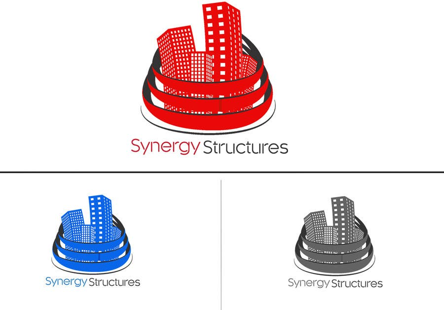 "#33 for Logo for ""Synergy Structures"" $40 1st, $10 2nd. Apartment building construction company. by tehsolution"
