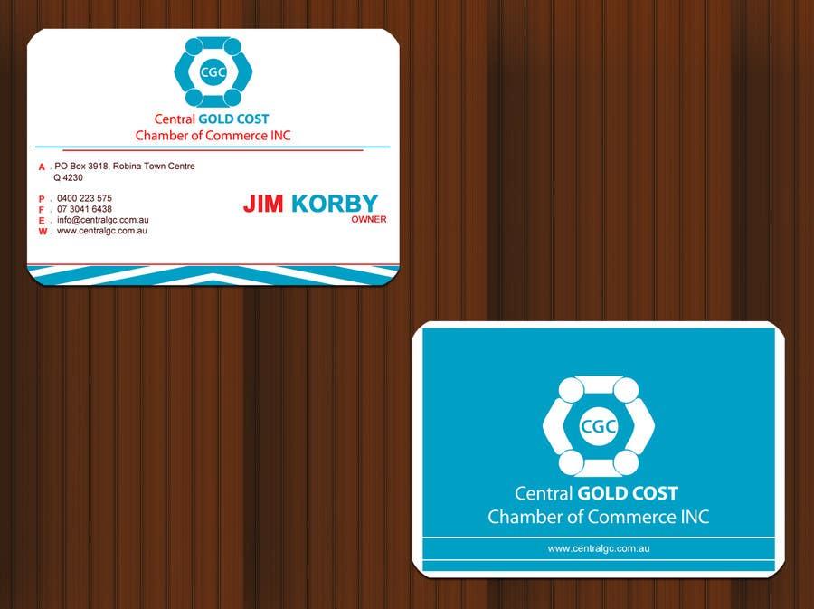 Kilpailutyö #28 kilpailussa ***URGENT*** Business Card Design for Central Chamber of Commerce