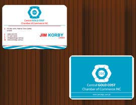 #28 untuk ***URGENT*** Business Card Design for Central Chamber of Commerce oleh kannansoorej2009