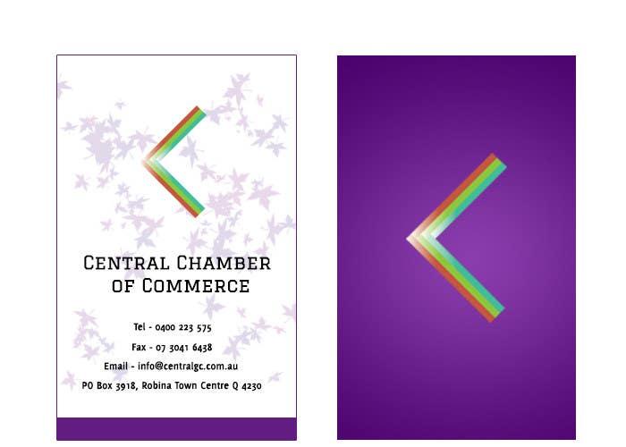 Penyertaan Peraduan #37 untuk ***URGENT*** Business Card Design for Central Chamber of Commerce