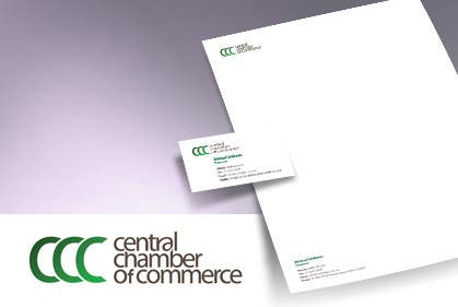 Конкурсная заявка №25 для ***URGENT*** Business Card Design for Central Chamber of Commerce