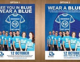 #11 para Design an A4 flyer | Blue Shirt Wednesday | 2016 | 02 de teAmGrafic
