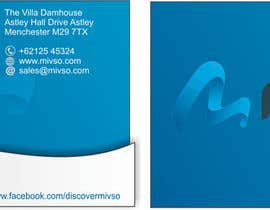 #36 for Design some Business Cards for Mivso by jasbirsaini30