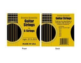 pamarasinghe tarafından Create Print and Packaging Designs for Acoustic Guitar Strings için no 19