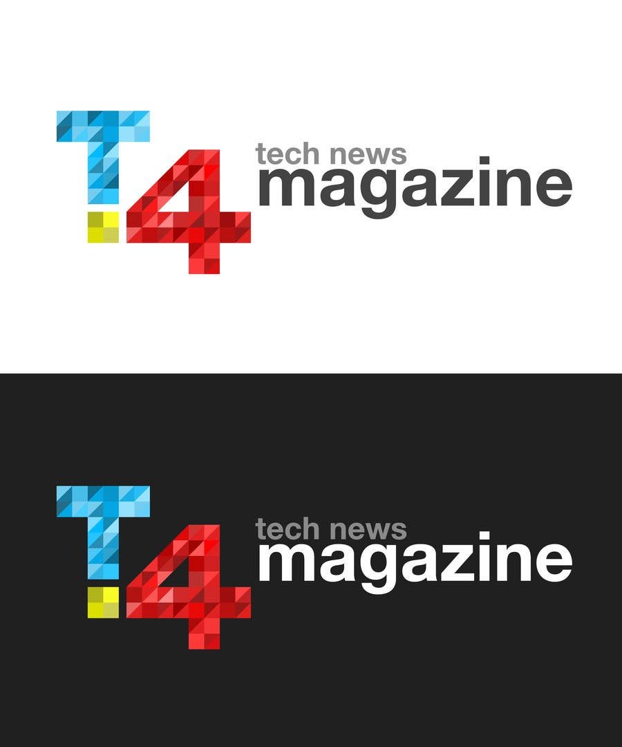 Penyertaan Peraduan #                                        147                                      untuk                                         Design a Logo for a tech news website